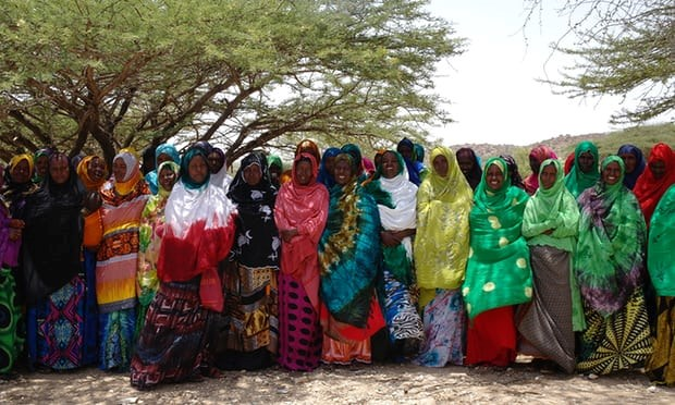 Women's Collective leading humanitarian response in Gorgeysa, Somaliland. Photograph: Holly Miller, ActionAid Australia