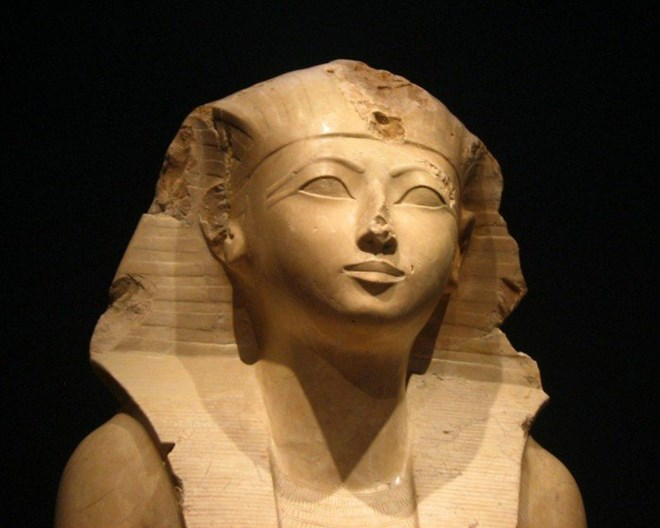 Queen Hatshepsut , second female Pharoah