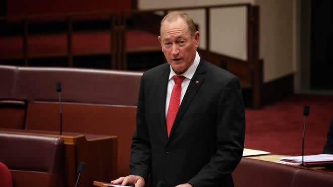 Senator Fraser Anning: Australian Lawmaker Calls For 'final Solution' To Muslim