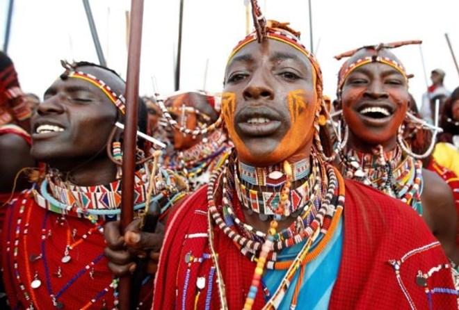 Kenyan warriors hunt cash not lions in Maasai Olympics