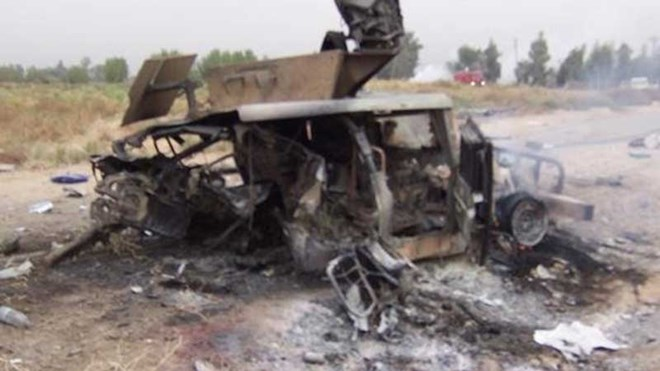 8 Kenyan security personnel killed after their vehicle hit an IED in Bojigaras area, Wajir County