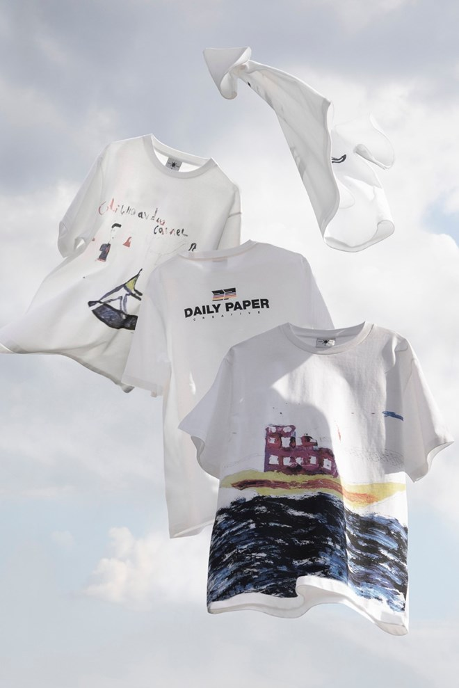 Daily Paper Joins Elman Peace for Charitable, Hand-Drawn T-shirt Capsule