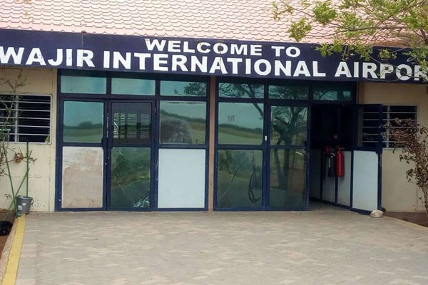 A file photo of Wajir International Airport. Kenya has suspended direct flights from Mogadishu to Nairobi and said planes will first land in Wajir for security checks. PHOTO | BRUHAN MAKONG | NATION MEDIA GROUP