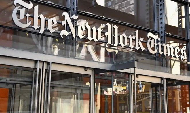 New York Times Changes Front Page Trump Headline After