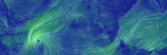 8th cyclone formed in the North Indian Ocean region