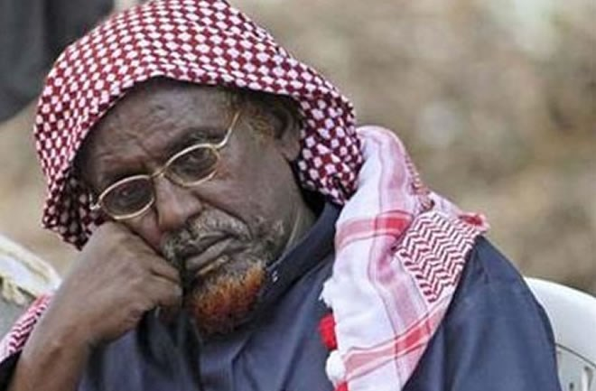 Hassan Dahir Aweys, the founding father of extremism in Somalia, a man listed both by the U.S. and United Nations as global terrorist associated with Al Qaeda