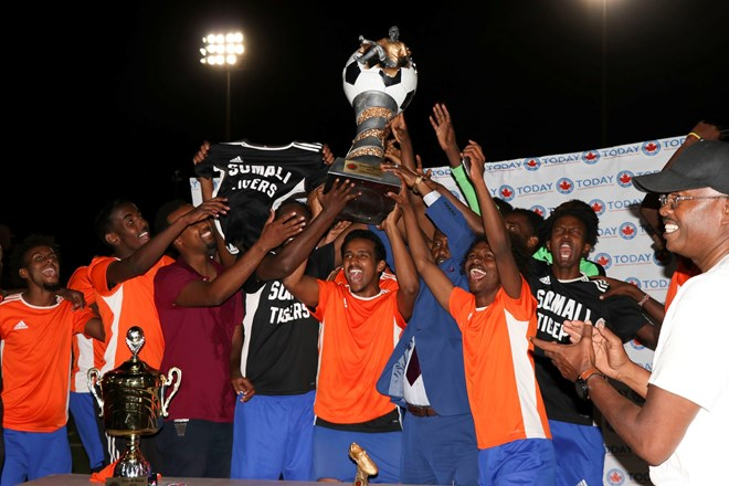 Minnesota Tigers: Winner of 2019 Somali Week Soccer Tournament