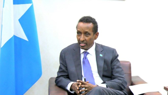 "Somalia's Foreign Minister Ahmed Isse Awad ""We're not interested in a tit-for-tat. We're interested in having a good relationship with Kenya"""