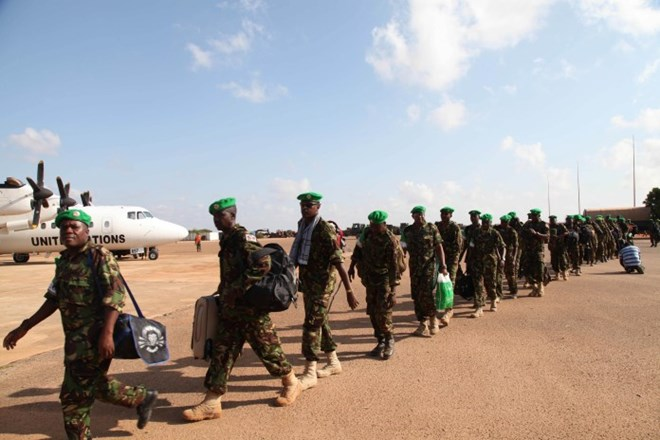 Kenyan troops must leave Somalia