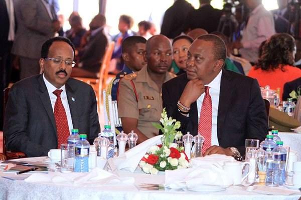 Image result for Kenya bilateral relationship with Somalia JKIA drama