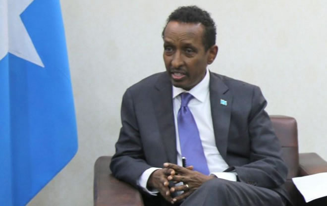 Somali Foreign Minister Ahmed Issa Awad [Ministry of Foreign Affairs & International Cooperation of Federal Republic of Somalia]