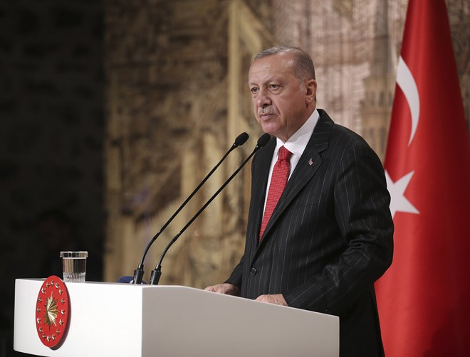 Turkish President Erdogan says he 'cannot forget' Trump's letter