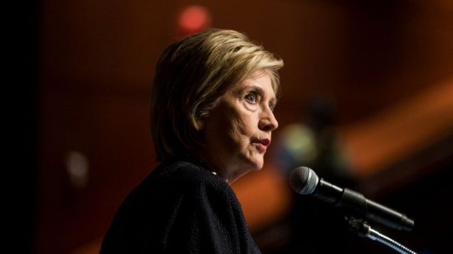 Hillary Clinton: Russia 'grooming' Democratic candidate