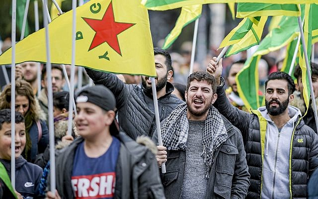 Tensions between Germany's Turks and Kurds boil over with Syria offensive
