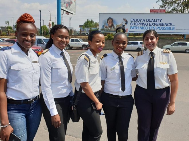 Malawi makes history by hosting world's female pilots conference