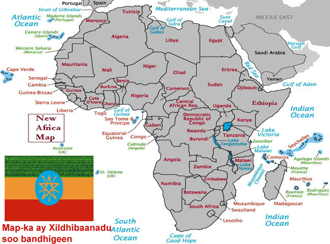 Afrika Karta Guinea.Wararka Maanta Talaado Dec 12 2006 Maxaa Ka Jira In Qariidadii Ay