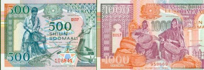 Counterfeited the Somali Shilling |Somali Money