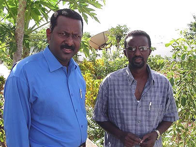 Ali Iman Sharmarke and Ahmed Abdisalam