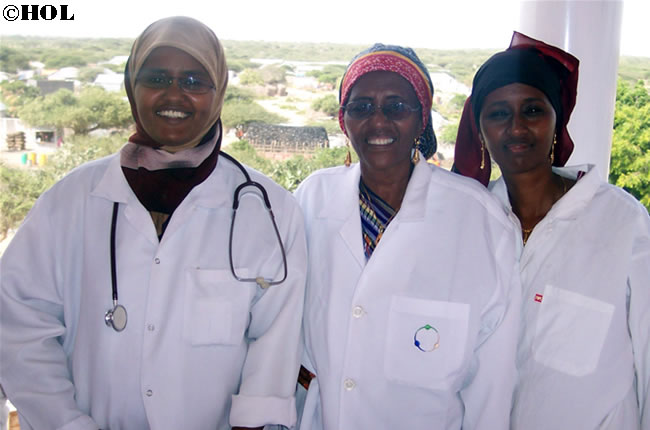 Dr. Hawa & her daughters